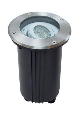 Nájazdové, nášľapné svietidlá - Lampa najazdowa MIX okrągła LED GU10 regulowana