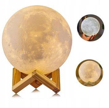 лампа НОЧНАЯ Луна 3D MOON LIGHT с диммером