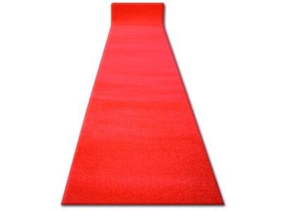 Dywany łuszczów Chodnik Sketch 120 Red ślub Q2340