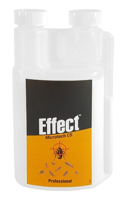 Jed zabíja mravce, šváby Účinok MICROTECH