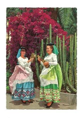 П / я. - Канарские острова / народные костюмы женские