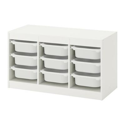 IKEA biela skriňa s 9 kontajnerov trofast kurier24