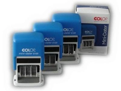 COLOP Mini datownik S120 różne formaty daty