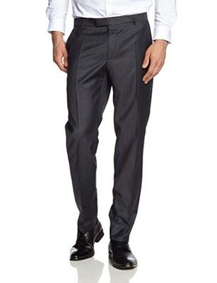 ad6fbdbde8ae0 Spodnie męskie garniturowe R. 84/107 100% Wełna - 6434704980 ...