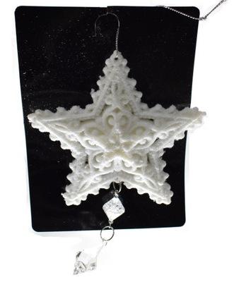 SNOW STAR CRYSTAL korálky Vianočné ozdoby 6128