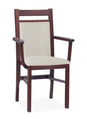 MILANO F6 fotel drewniany   RÓŻNE KOLORY