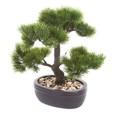 umelé BONSAI strom Pinus Pinia 32 cm, borovica