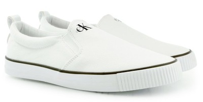 CALVIN KLEIN DOLLY tenisówki wsuwane buty 40