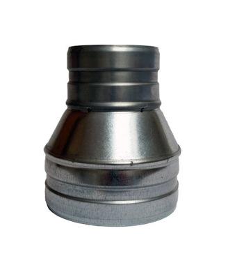 Zníženie 140/100 kapota hadice, potrubia, ventilátor, Spyro