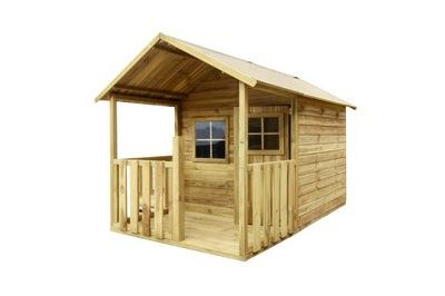 Drevený dom pre deti, Blanka 4iQ
