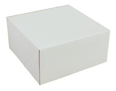 коробка ТОРТ белое 25X25X12