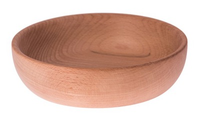 Miska - MISECZKA, MISKA, MISA drewniana 22x6,8cm DECOUPAGE