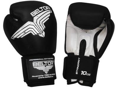 Beltor Štandardné Boxerské Rukavice Čierne 12 oz