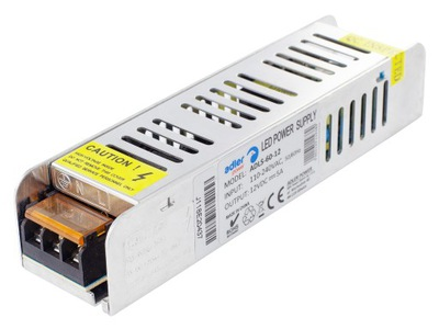 Блок питания для лент LED модульная SLIM 5A 60W 12V