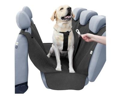 Uniwersalna MATA POKROWIEC dla psa na kanapę PASY