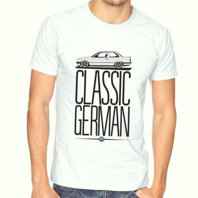Koszulka T-shirt BMW E30 Classic German E46 E39