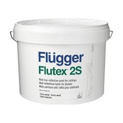 FLUGGER FLUTEX ANTI-ODLESKU NÁTER BIELY 2S 3L