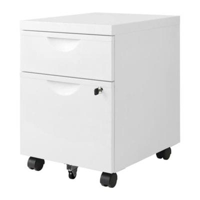 IKEA nočnom stolíku 2 zásuvky ERIC biela kuriér