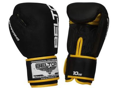 Beltor tréning s neútočícím súperom Boxerské Rukavice Čierne 10 oz