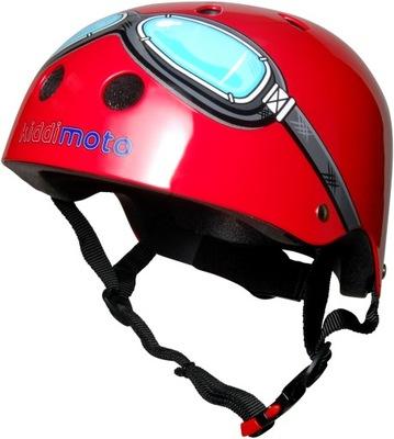 Príslušenstvo - Prilba Scooter Bike Roll Kiddimoto Red Goggle M