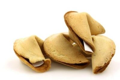китайское cookie, печенье с предсказаниями - 10шт