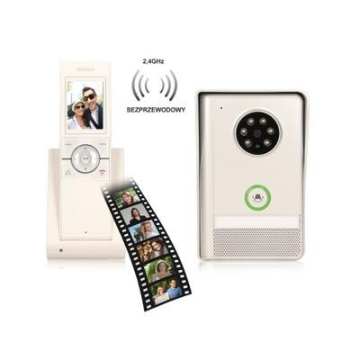 Kit farebné video interkom 150m bezdrôtový ORNO