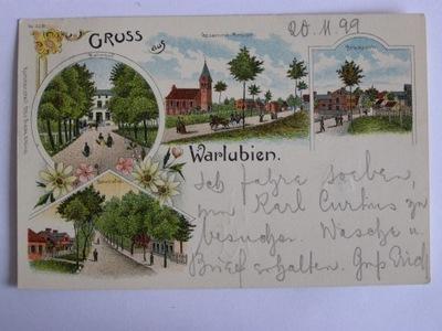 Warlubie Warlubien железнодорожный kolejowy1899 литовский sec