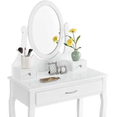 ТУАЛЕТНЫЙ столик и КОСМЕТИЧЕСКОЕ Елена + Табурет зеркало