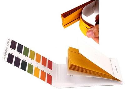 полоски бумажки ?????????? ИЗМЕРЕНИЕ pH МЕТР 1 -14 x80 !
