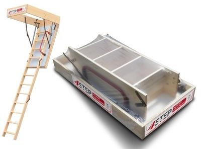 Лестница на чердак  46 мм 112x70 70x112 +