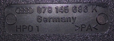 AUDI A6 C5 2.7 RURA WĄŻ INTERCOOLER 078145686K