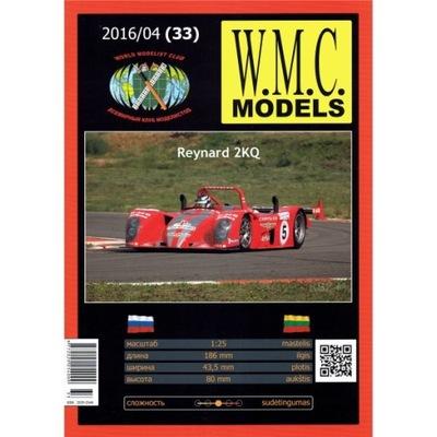 WMC Models 33 Wyścigówka Reynard 2KQ 1:25