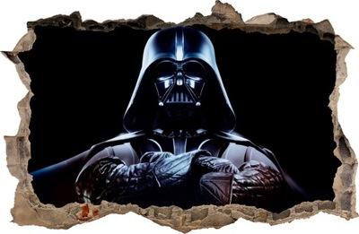 Nástenná samolepka - STIERKY NA STENY Dierka Darth Vader 63 115x75 cm