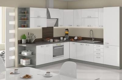 Мебель Кухонные ВЫСОКИЙ блеск тихий закрытие ПРОЕКТ