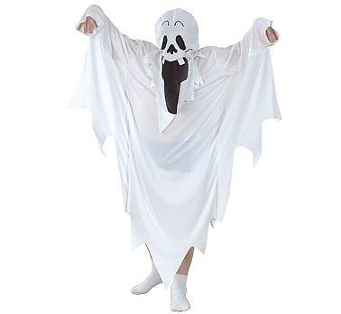 Šaty, Oblek z ducha Svätého. dim. 130/140 Halloween ZNAK