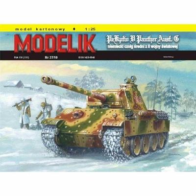 Штампик 27 /10 Танк ПАНТЕРА (PANTHER Ausf.? ) 1 :25