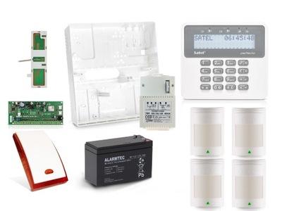 Полный Сигнализация SATEL PERFECTA 4 ИЗВЕЩАТЕЛИ GSM SMS