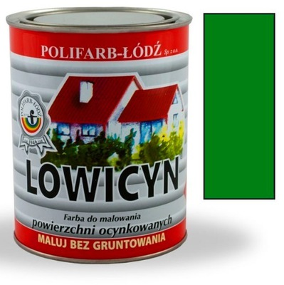 Lowicyn farba MINT ZELENEJ RAL6029 MAT 5L