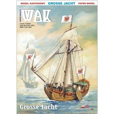 WAK 11/16 - Żaglowiec Grosse Jacht 1:100