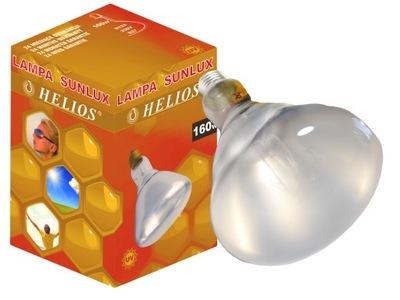 LAMPA UVB Sunlux 160W domowe słońce witamina D