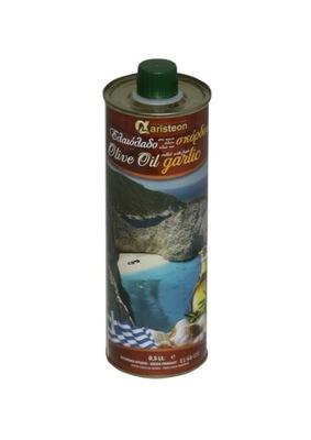 оливковое масло Оливковое с Чесноком 500мл Греческая ARISTEON