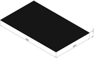 плита instagram маслостойкая резинка NBR 3x300x500 мм