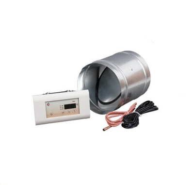 Regulátor rýchlosti - Krbový regulátor s klapkou 125 MSK / P125