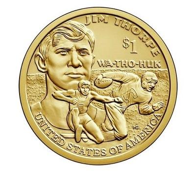 Indianka 2018 - Native American Sacagawea Dollar D