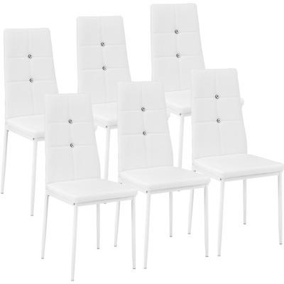 6x стулья ??? столовой белое стул Алмаз 402543
