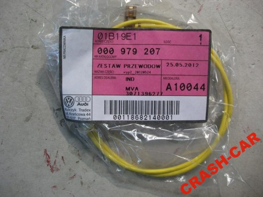VW AUDI FIBER CABLE CABLE NEW 000979207