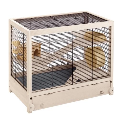 Ferplast hamsterville klatka dla chomika drewniana for Creatore di piani casa online