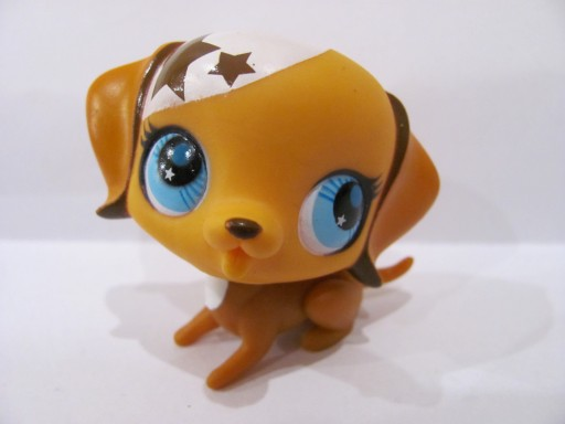 LPS Littlest pet shop spaniel piesek UNIKAT (298)