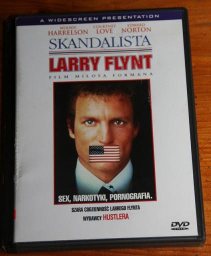 SKANDALISTA LARRY FLYNT     DVD