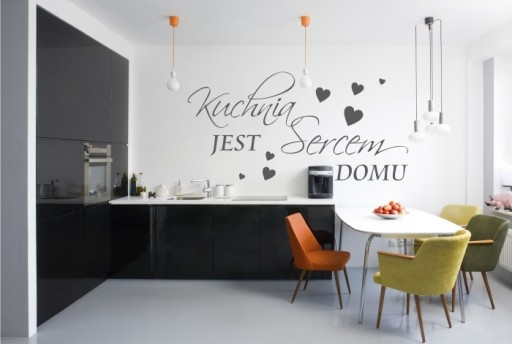 Napis Na ścianę Kuchnia Jest Sercem Domu 84
